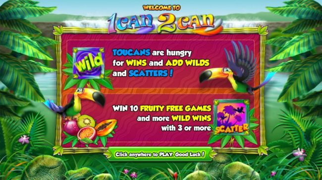 Exciting Game features Wilds, Scatters and Free Spins