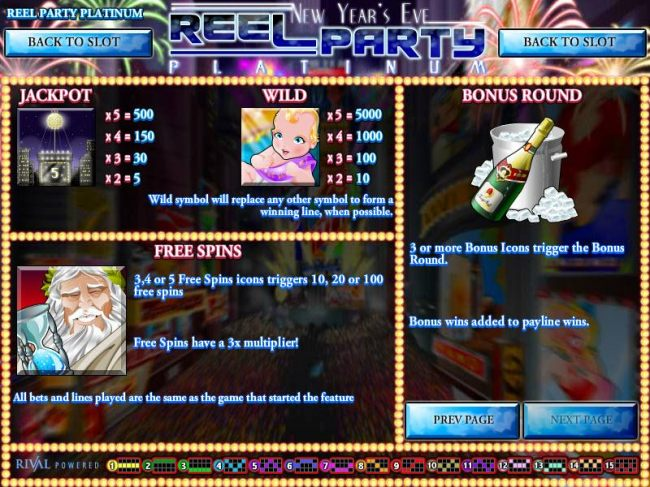Casino Bonus Beater image of Reel Party Platinum
