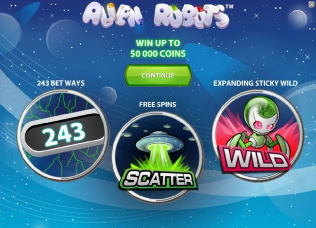 game features - win up to 50000 coins, 243 bet ways, free spins and expanding sticky wild - Casino Bonus Beater