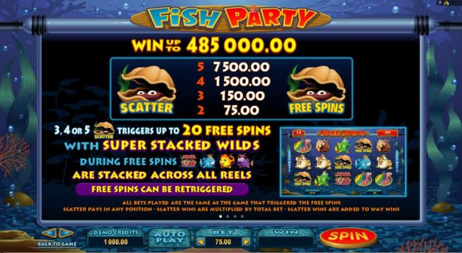 Casino Bonus Beater image of Fish Party