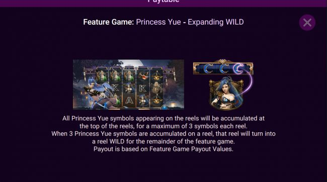 Casino Bonus Beater - Princess Yue Expanding Wild Feature Rules