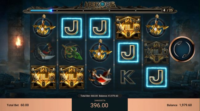 Heroes Rise of the Legend by Casino Bonus Beater