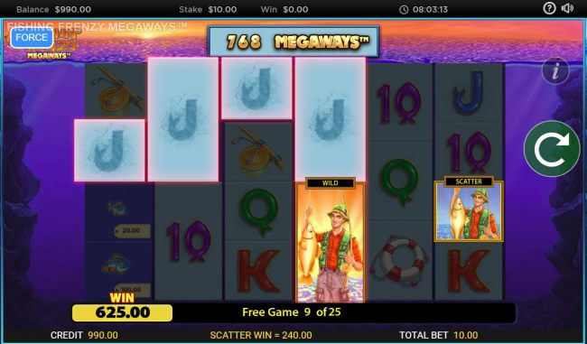 Multiple winning combinations by Casino Bonus Beater