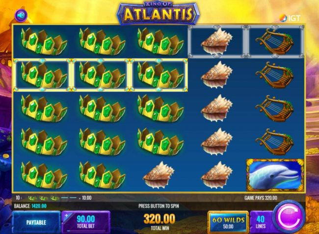 Images of King of Atlantis
