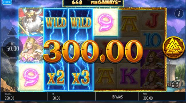 Stacked wilds triggers multiple winning paylines by Casino Bonus Beater