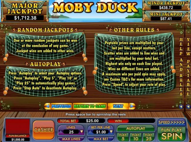 Images of Moby Duck