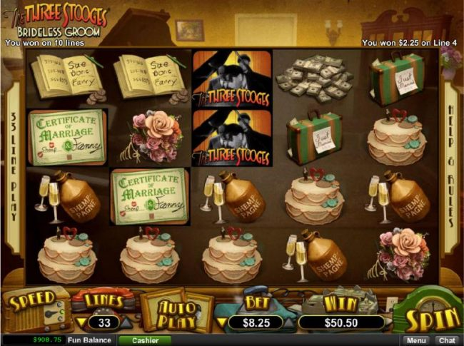 Casino Bonus Beater - Multiple winning paylines triggers a big win!