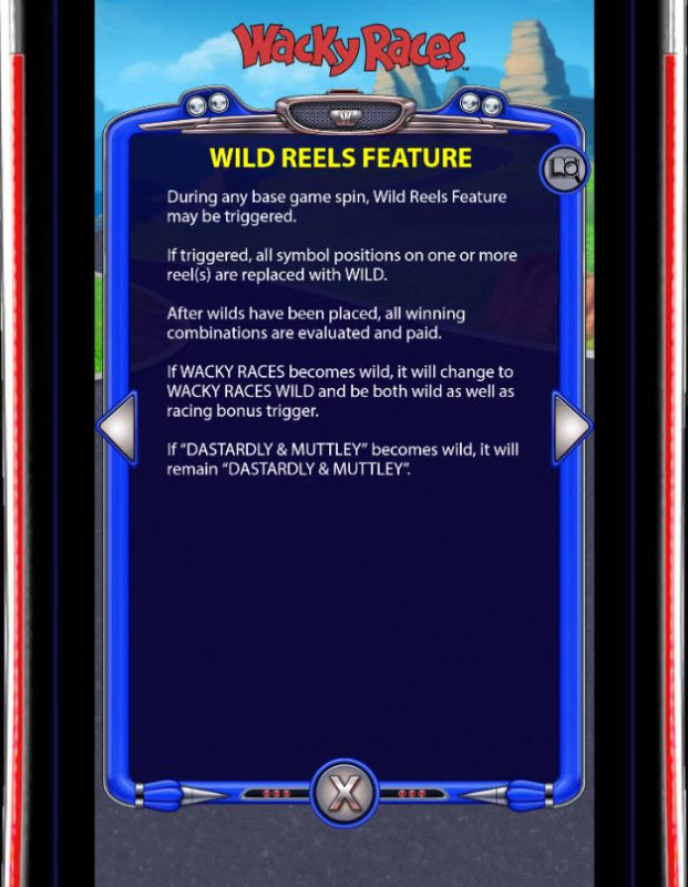 Wild Reels Feature