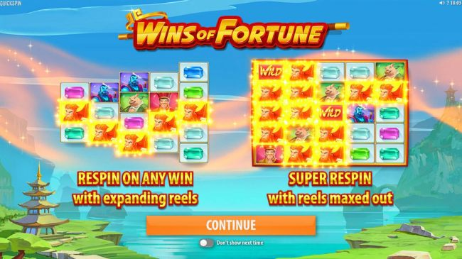 Images of Wins of Fortune