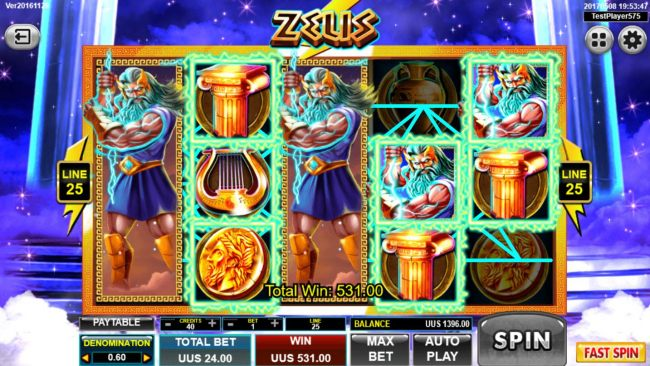 Casino Bonus Beater image of Zeus