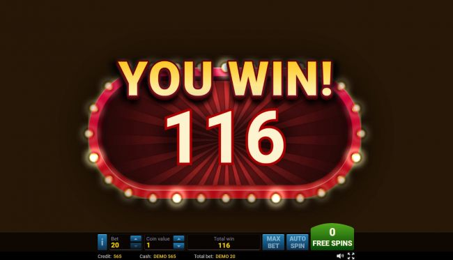 Casino Bonus Beater - Total free games payout 116 coins