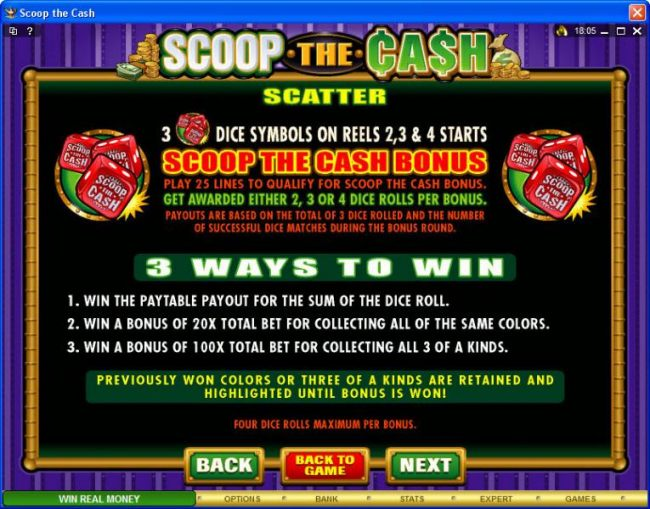 Casino Bonus Beater image of Scoop the Cash