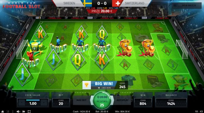 Images of World Cup Football Slot