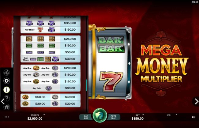 Mega Money Multiplier screenshot