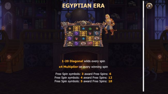 Egyptian Era by Casino Bonus Beater