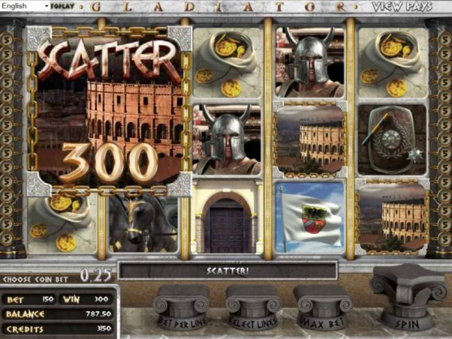 Three Scatter Symbols Pays Out A 300 Coin Jackpot - Casino Bonus Beater