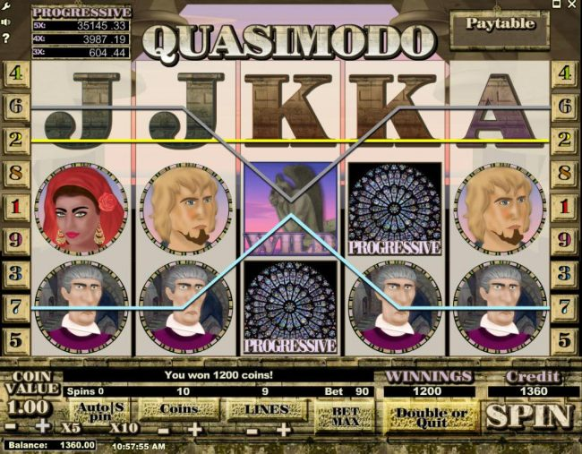 Casino Bonus Beater image of Quasimodo