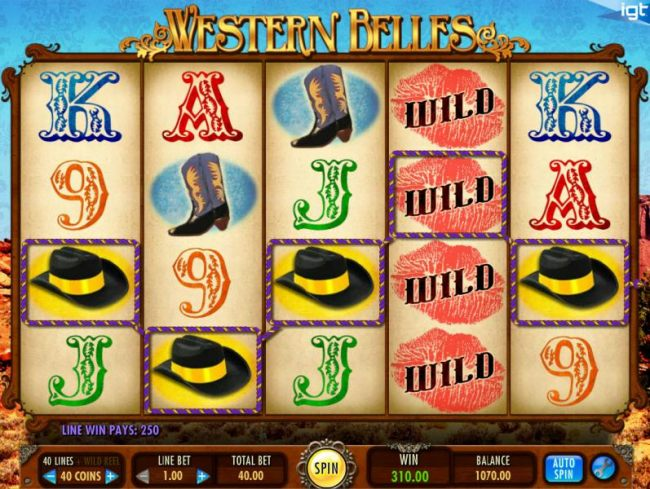 Western Belles by Casino Bonus Beater