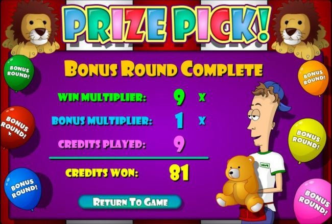 Bullseye Bucks screenshot