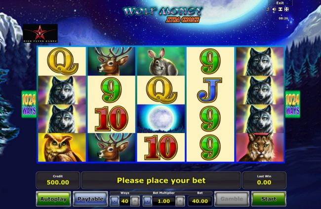Images of Wolf Money Extra Choice