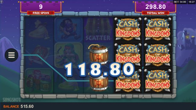 Casino Bonus Beater image of Cash of Kingdoms