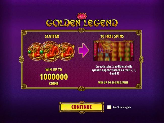 Win up to 1,000,000 coins. Win up to 20 free spins.