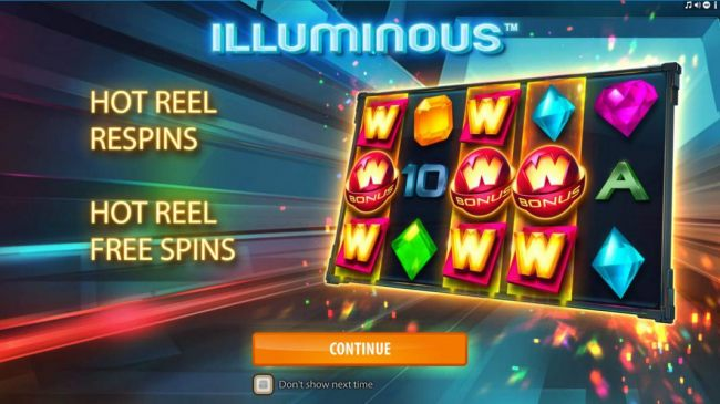 Features include Hot Reel Respins and Hot Reel Free Spins