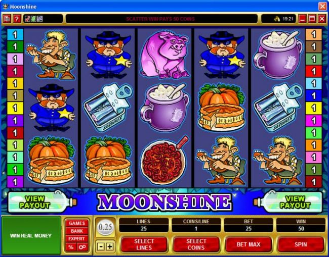 Casino Bonus Beater image of Moonshine