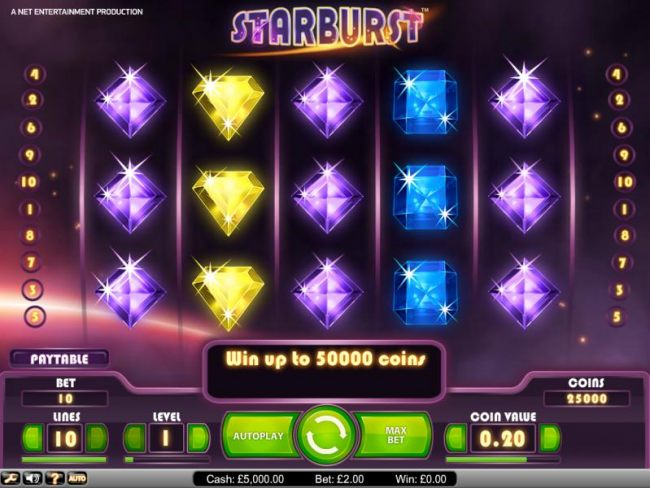 Starburst slot game playing field - Casino Bonus Beater