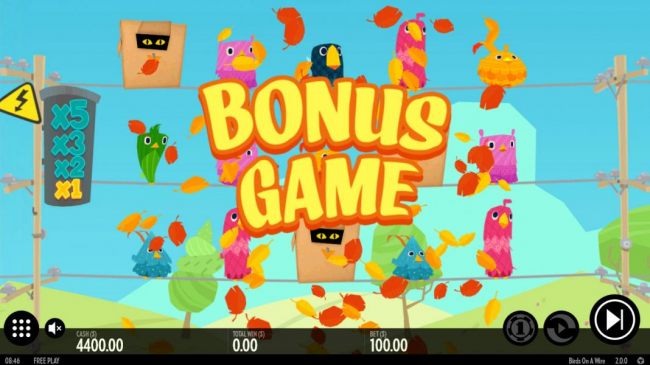 Casino Bonus Beater - Three scatter symbols triggers the Bonus Game