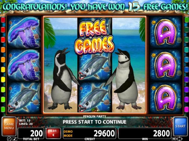 Images of Penguin Party