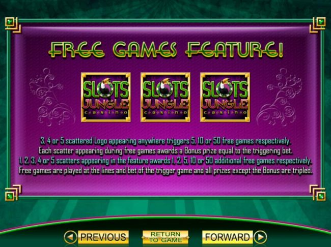 Casino Bonus Beater - Free Games feature rules