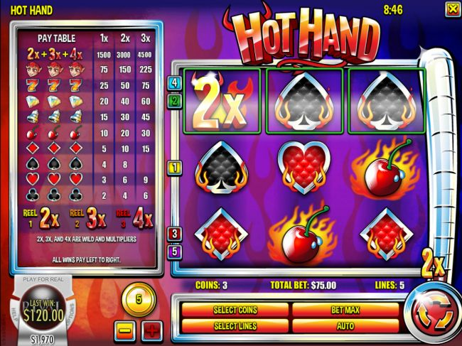 Hot Hand screenshot