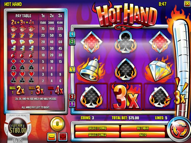 Casino Bonus Beater image of Hot Hand
