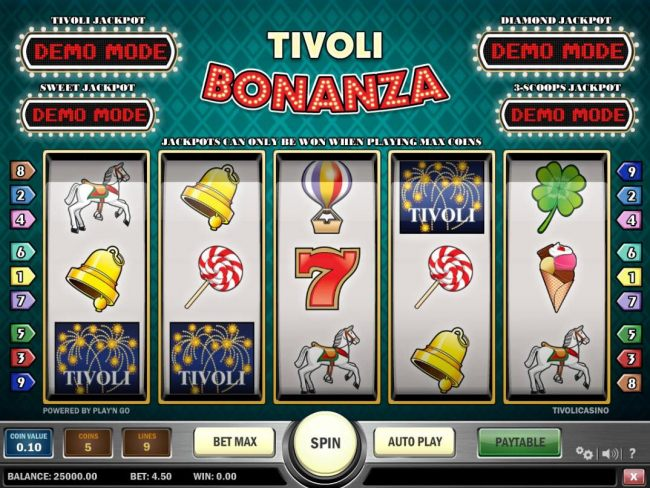 Tivoli Bonanza by Casino Bonus Beater