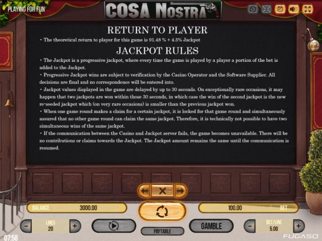 Casino Bonus Beater - Jackpot Feature Rules