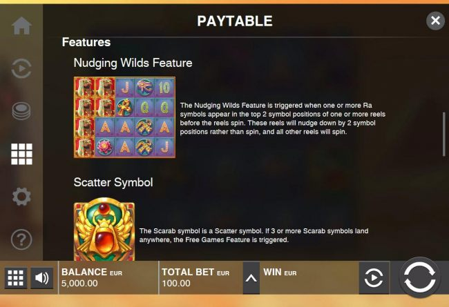 Nudging Wilds Feature Rules