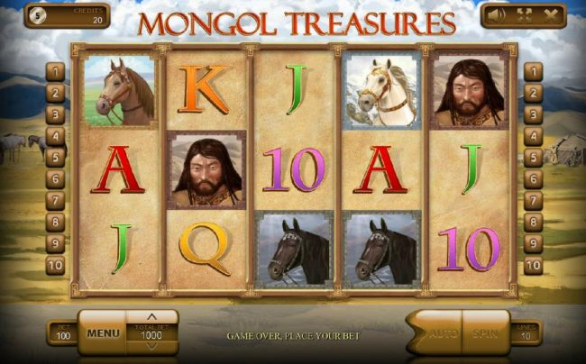 Images of Mongol Treasures