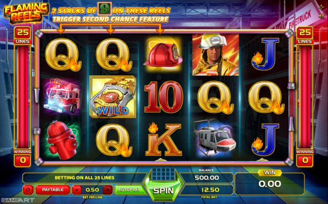 Flaming Reels by Casino Bonus Beater