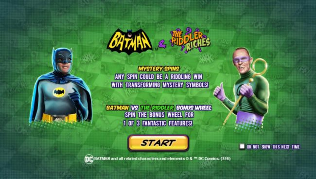 Batman and The Riddler Riches by Casino Bonus Beater