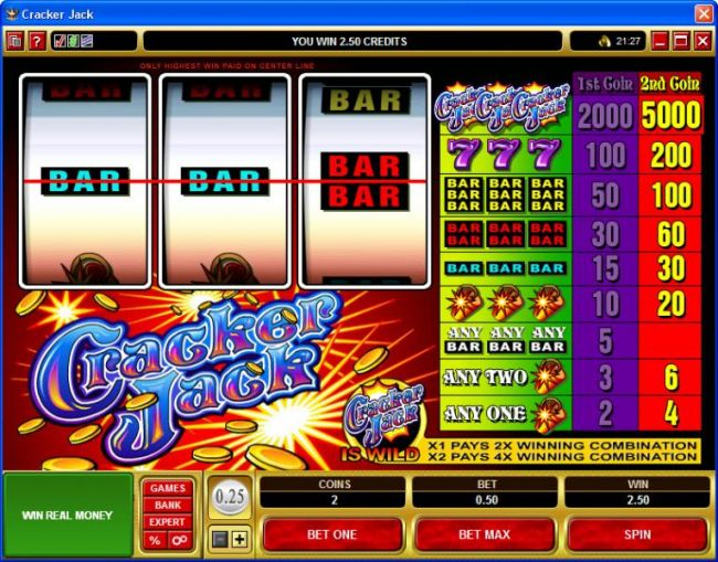 Cracker Jack by Casino Bonus Beater