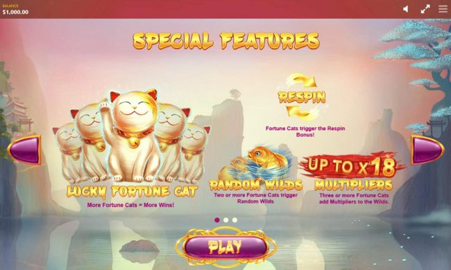 Casino Bonus Beater - Special Features - Respin, Random Wilds and up to x18 multipliers.