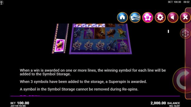 Symbol Storage Rules by Casino Bonus Beater