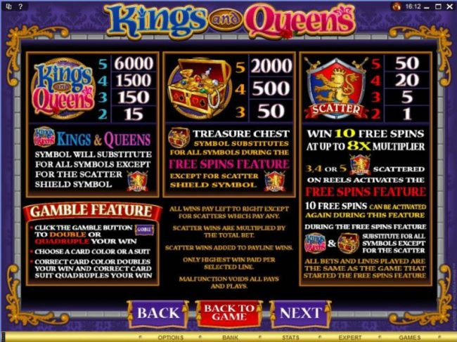 Kings and Queens screenshot
