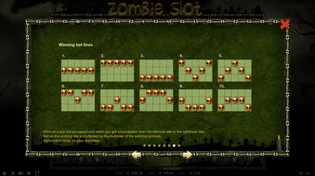 Zombie Slot by Casino Bonus Beater