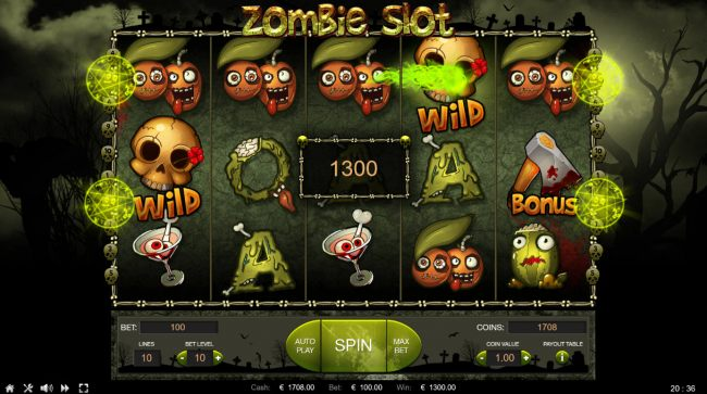 Images of Zombie Slot