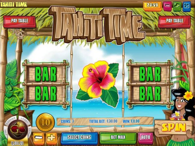 Tahiti Time screenshot