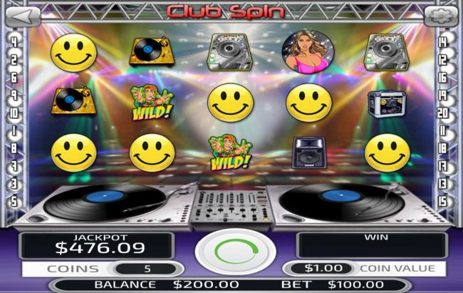 Casino Bonus Beater image of Club Spin