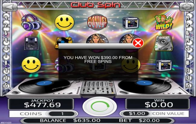 Club Spin by Casino Bonus Beater