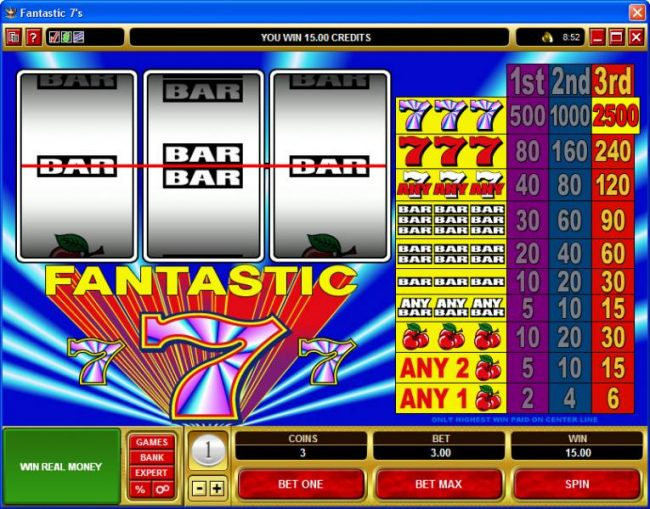 Fantastic 7s by Casino Bonus Beater